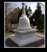 Buddhist stupa, Mount Auburn Cemetery