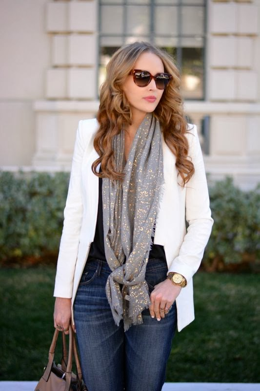 White Blazer, Big Star Denim, Boyfriend Jeans, Winter Style, Fashion Giveaway, Los Angeles personal style blog