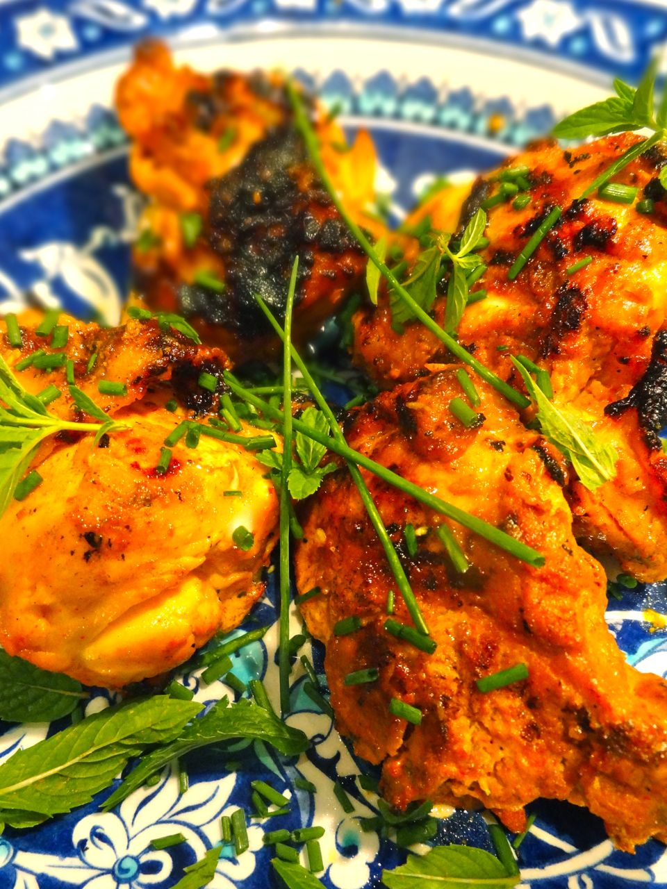 Scrumpdillyicious grilled thai red curry coconut chicken for Marinade poulet barbecue curry