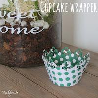 Cupcake Wrapper selber machen