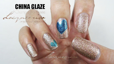 China Glaze Champagne Kisses Swatched