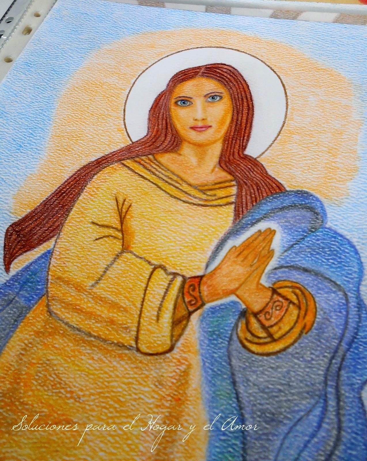 Mis Lápices y Dibujos, Asunción de María, Icono religioso