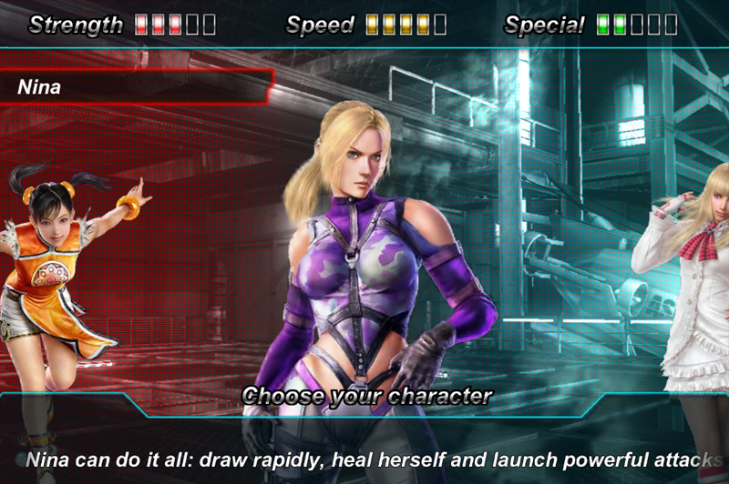 Tekken C4M iOS App
