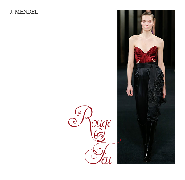 clemence m fashion week j mendel