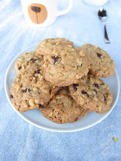 Rice Krispies Chocolate Chips Cookies