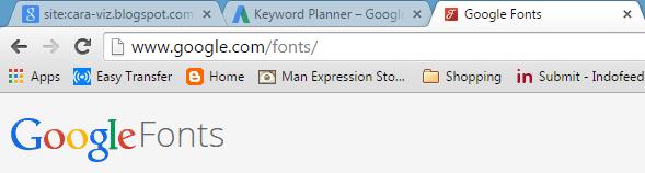 Cara Mendownload Font Keren dan Gratis Dari Google