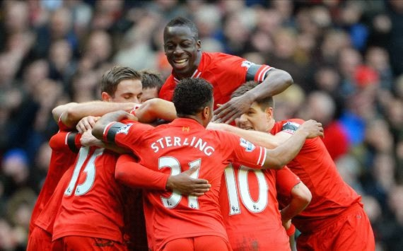 LIVERPOOL 5 - 1 Arsenal  #08/02/2014  #EPL
