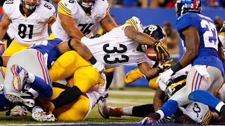 Pittsburgh Steelers Beat New York Giants 24-20