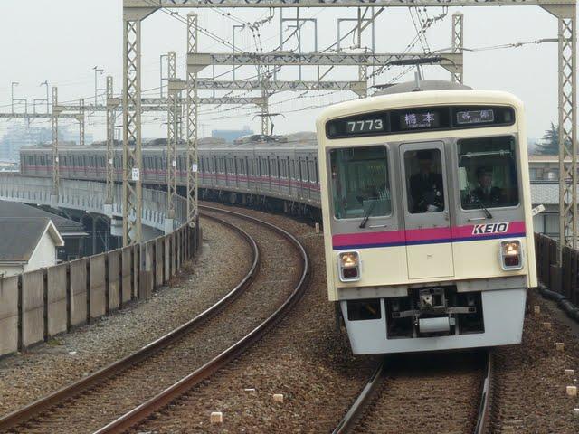 京王電鉄 各停 橋本行き1 7000系LED
