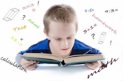 Aktiviti Homeschooling - Mengira dan membaca