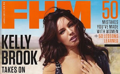 Kelly Brook en la Revista FHM UK