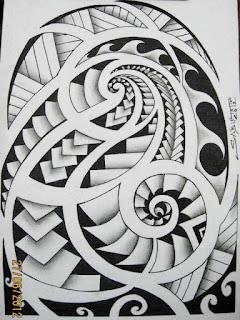 Moari Tatto on S  Bio Tattoo   Tatuagem Profissional  Tatuagem Maori Bra  O Desenho