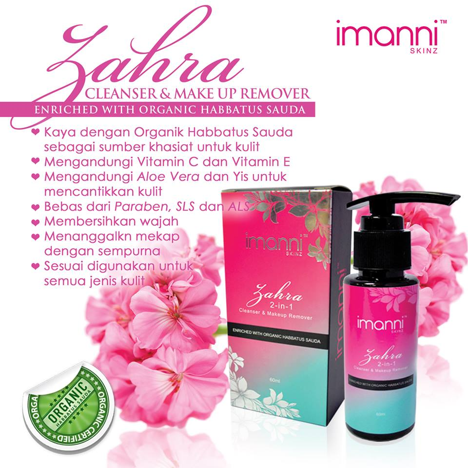 Zahra Cleanser & Makeup Remover