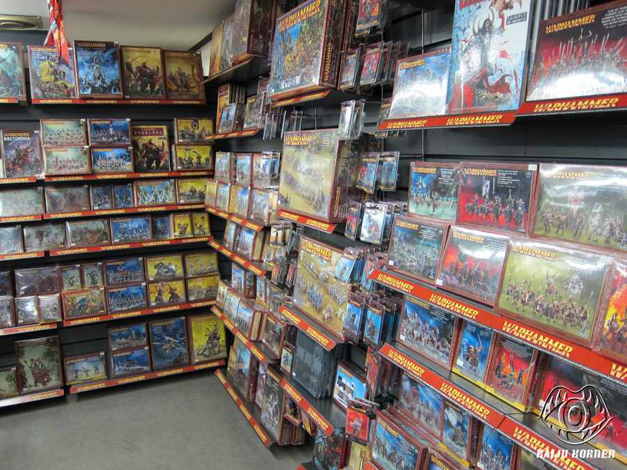 Games Workshop Miniatures in Japan