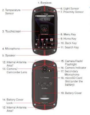 Free PDF: Casio GzOne Commando Manual Users Guide (Verizon Wireless