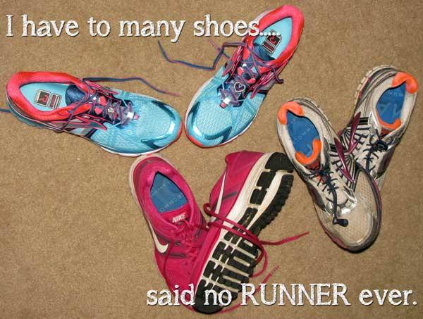 To Many Running Shoes Meme