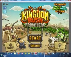 kingdom rush flash offline