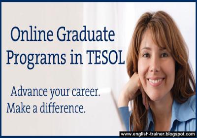 Online Graduate Programs in TESOL