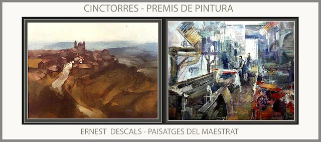 CINCTORRES-PINTURA-PAISATGES-MAESTRAT-PREMIS-MAESTRAZGO-PREMIOS-CONCURSOS-PAISAJES-PINTOR-ERNEST DESCALS-