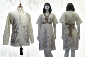 Model baju batik modern 02211