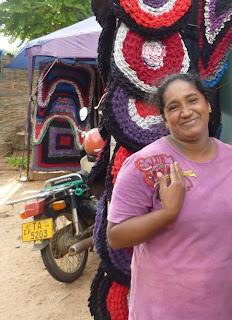 Sur la route au Sri Lanka