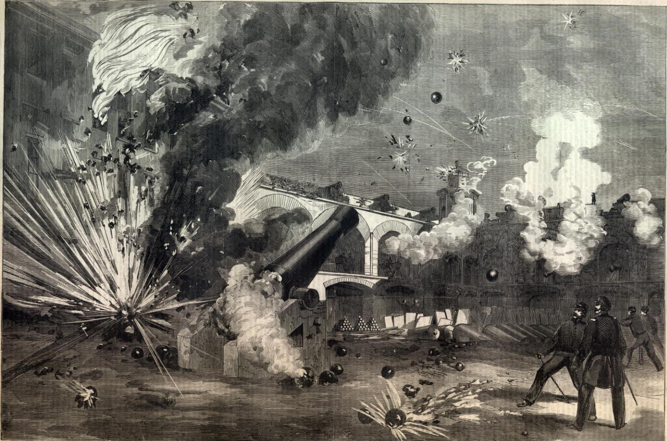 Bombing of fort sumter