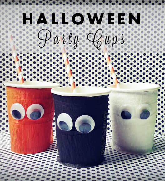 Glamour+avenue+parties+diy+halloween+party+cups