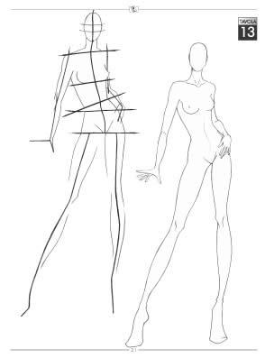 Ruchi's Fashion : How to draw fashion figures ?
