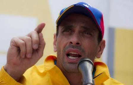 Capriles: Los venezolanos no tenemos por qué pagar las facturas de Maduro y Cabello