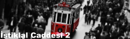 İstanbul İstiklal Caddesi 2 Mobese