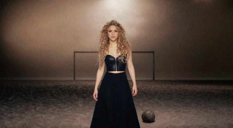 Shakira new video La La La (Brazil 2014)