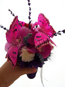 Ramo Novia Pequeño de Marriposas Y Flores
