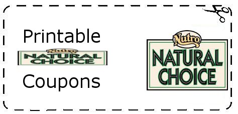 Coupon For Nutro Natural Choice Dog Food
