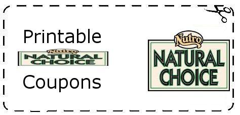 Printable nutro natural choice pet food coupons printable grocery