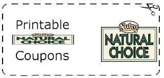 Printable Nutro Natural Choice Pet Food Coupons