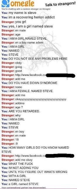 A girl named Steve