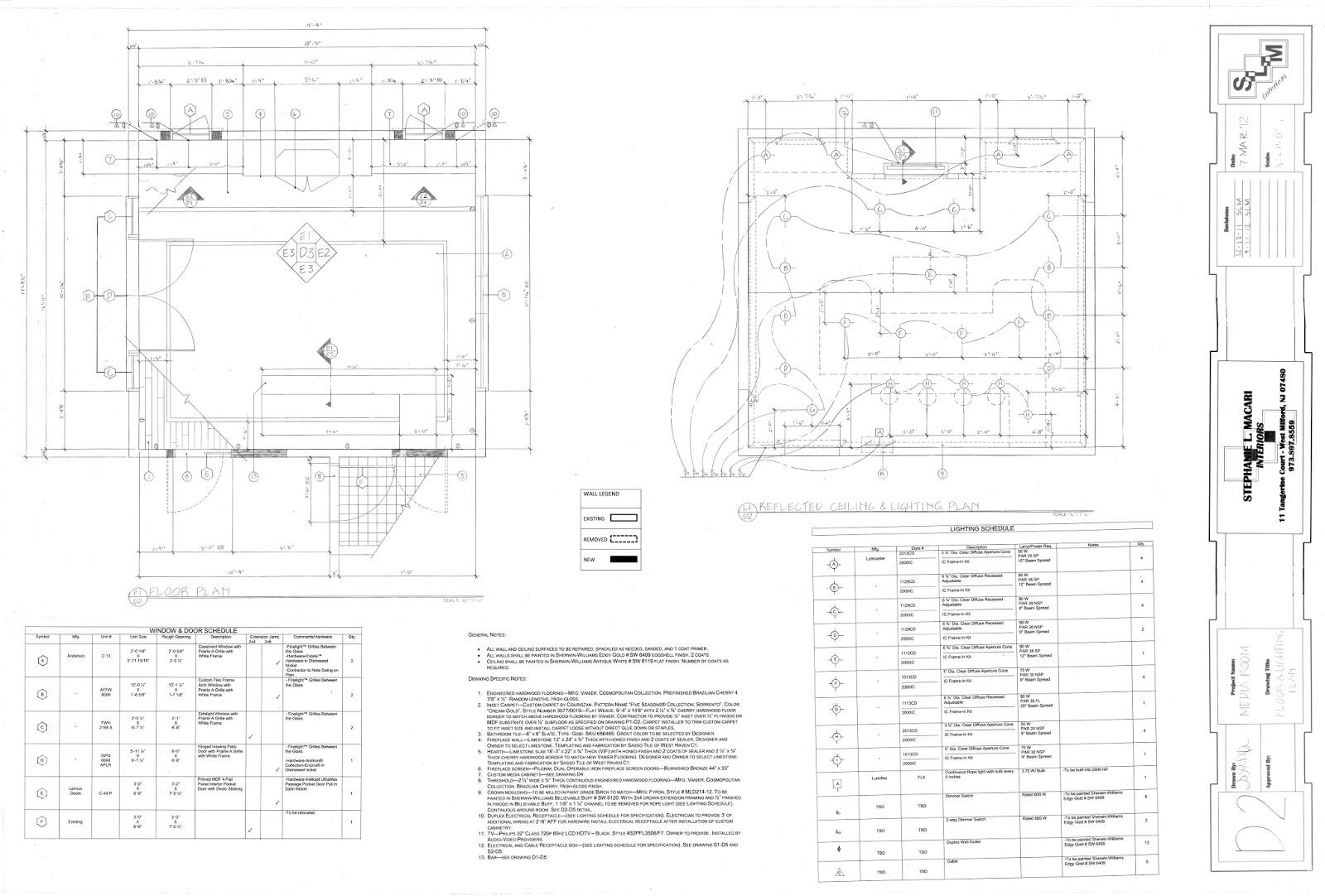 Floorplan, Electrical & Switching Plan