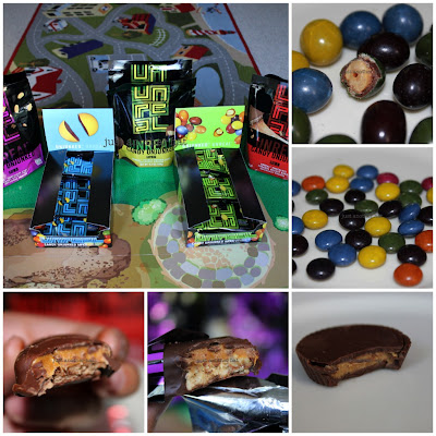 unreal candies collage up close images