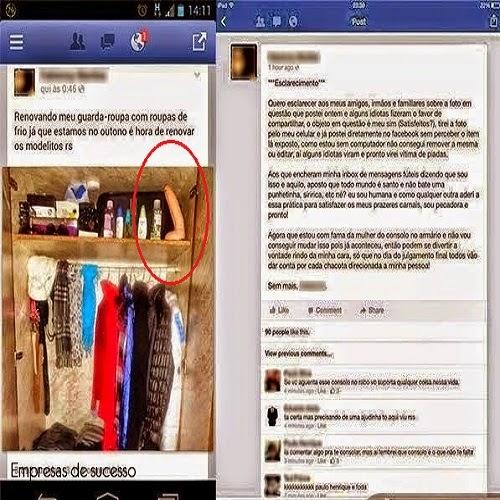 Olhe bem antes de postar uma foto no facebook.