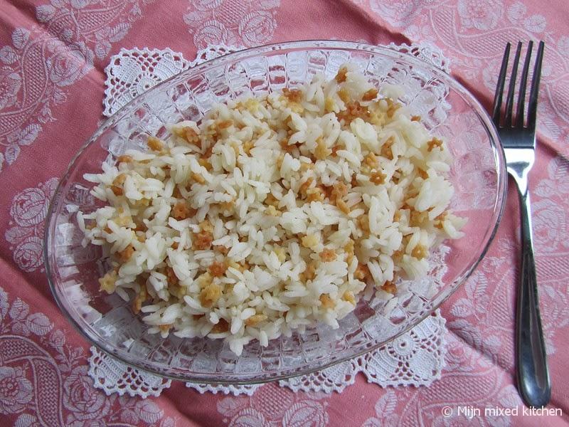 verhouding water rijst