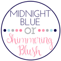 Midnight Blue or Simmering Blush