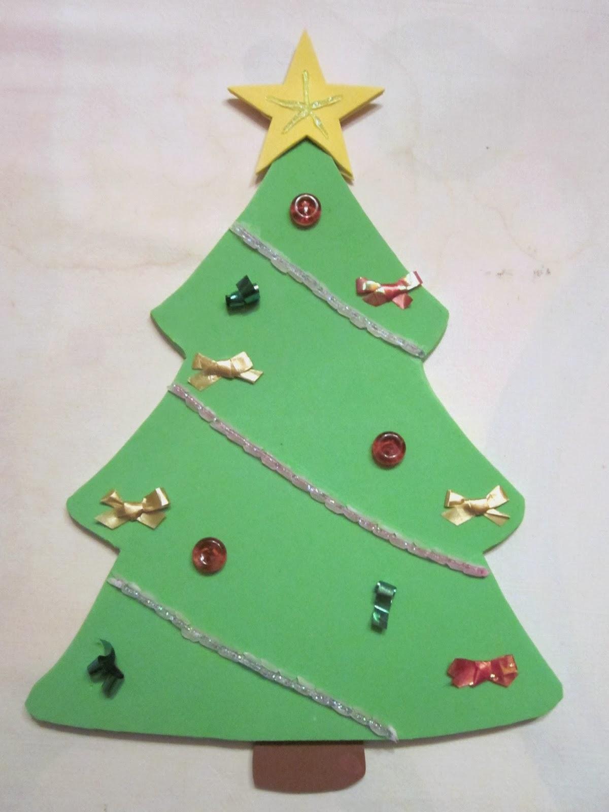 Las manualidades de kika preparando la navidad punto de for Manualidades con goma eva para navidad