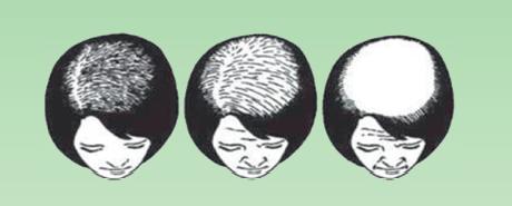 La mascarilla húmeda para los cabellos después de la permanente