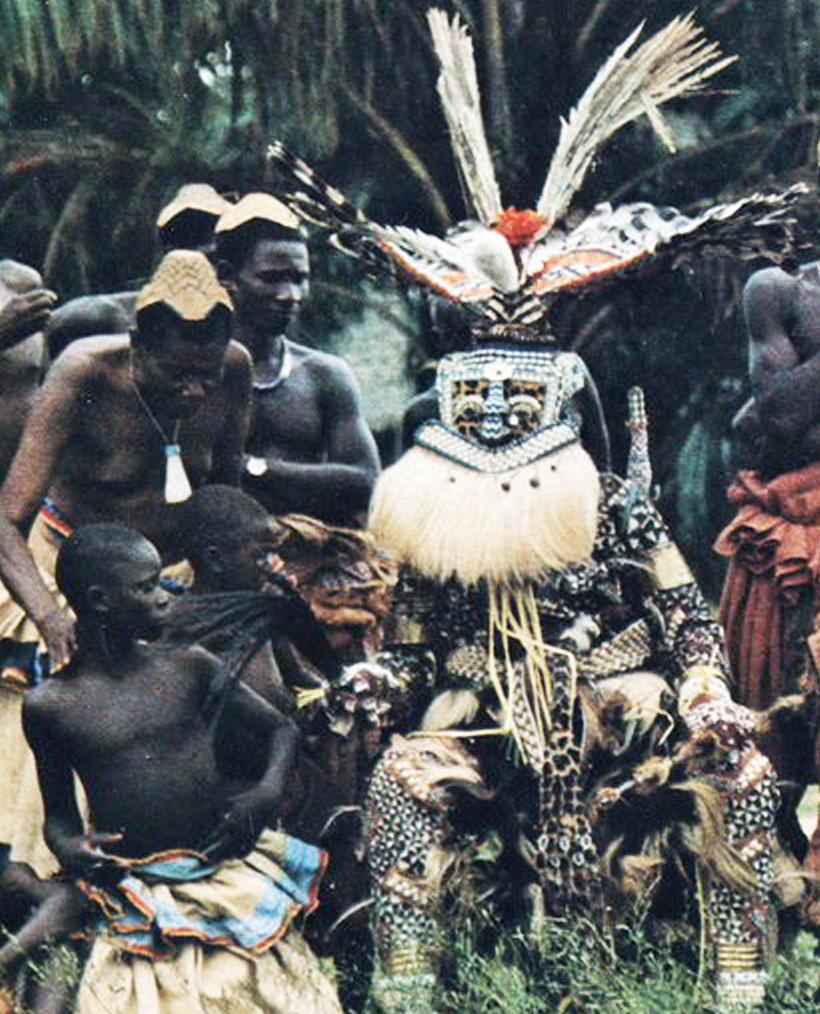 rituales , Congo, mascaras, contexto, reloj