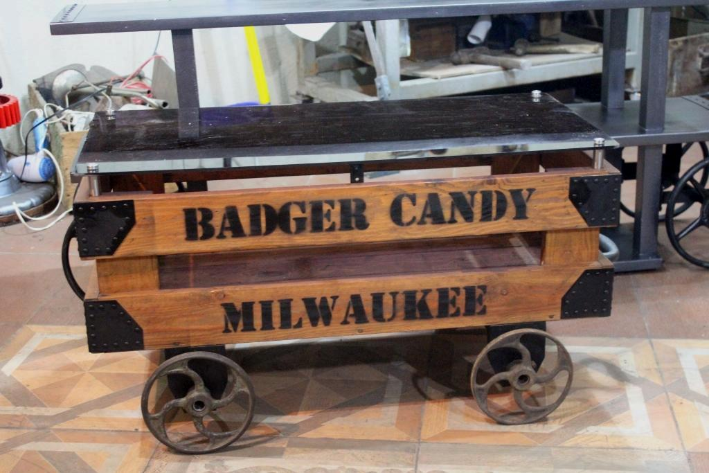 Badger Candy Table