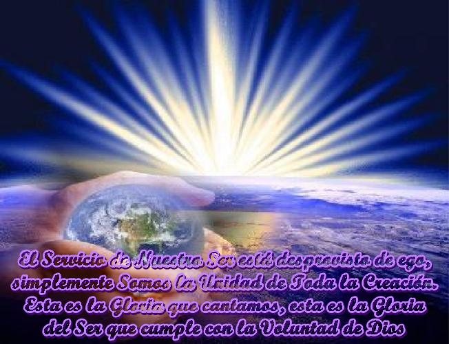 Sólo eres un Prestador de la Voluntad de Dios, sin pensamientos, ni escalas de valoración que midan la cantidad y calidad de tu asistencia.