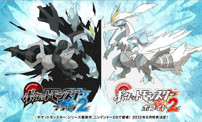 Pokemon New Game Black 2 and White 2 Back Kyurem White Kyurem June 2012