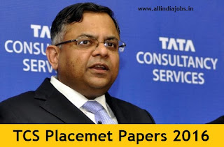 TCS Placement Papers 2016