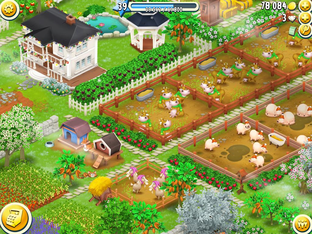 تحميل لعبة المزرعة السعيدة هاي داي Hay Day 2016  برابط مباشر coobra.net