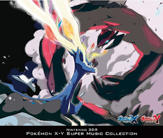 Pokemon XY Game Sound Tracks CD Jacket front